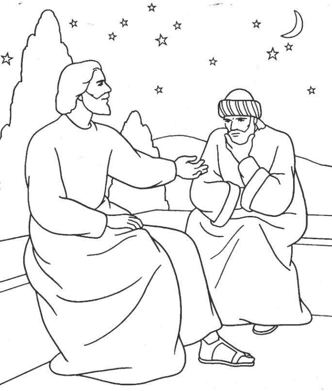 Excepcional Biblia Para Colorear Jesús Ideas - Ideas Para Colorear ...